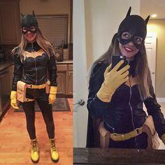 You guys loved my Korra last year, so here's my Batgirl from last night! - Imgur