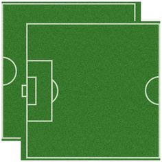 Reminisce - Real Sports Collection - 12 x 12 Double Sided Paper - Soccer Field