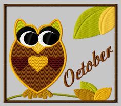 {Months- Crazy October- designsbycuties-8392514-76828 K.H.}  Free Embroidery Designs, Cute Embroidery Designs