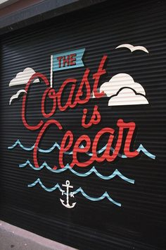 The coast is clear by Tristan Kerr