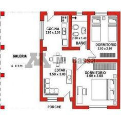 planos de complejo de cabañas - Buscar con Google Small Tiny House, Small House Design, Small House Plans, Tie Dying Techniques, Plan Design, House In The Woods, Small Apartments, Architecture, Home Projects