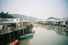 Creek - Tai O, Hong Kong.