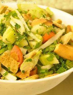 Fattoush recipe | Lebanese Recipes | by Tarla Dalal