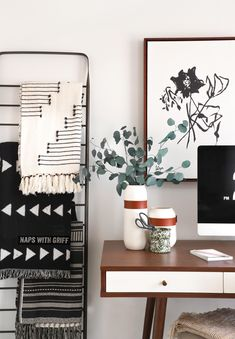 Beau We Love This Office Makeover By Ispydiy. Find Creative Ways To Update Your  Wall Art And Home Decor Through Personalized Techniques.