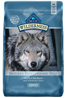 Spoil your Dog with this Blue Buffalo Wilderness High Protein Grain Free, Natural Adult Dry Dog Food, Chicken Large Dog Breeds, Small Breed, Large Dogs, Small Dogs, High Protein Dog Food, Best Dog Food Brands, Dog Food Reviews, Grain Free Dog Food, Natural Dog Food