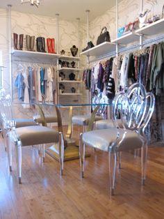 Closet ideas 2. Bollare PR firm.