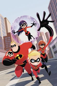 Dark Horse have revealed two new comic books based on the upcoming Pixar movie, The Incredibles There will be one graphic novel and one three-issue [. Disney Magic, Disney Amor, Disney Fan Art, Disney Love, Disney Incredibles, Jack Jack Incredibles 2, Disney Animation, Animation Movies, Disney Kunst