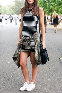 Take a cue from these street style stars and wear your Converse Chuck Taylor All Stars with anything and everything.