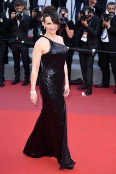 JULIETTE BINOCHE at 70th Annual Cannes Film Festival Closing Ceremony 05/28/2017