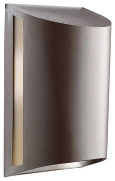 KICHLER Hard Contemporary Outdoor Wall Sconce X-ZA5909 - contemporary - Outdoor Wall Lights And Sconces - Arcadian Home & Lighting