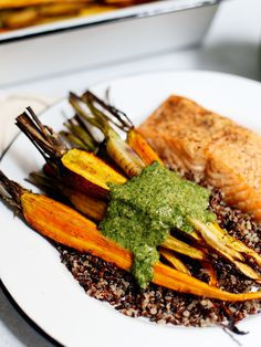 True Food Kitchen copycat pesto from their Ancient Grains Bowl!