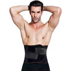 b05a5ab632cfb DZXZY Adjustable Men s Breathable Waist Tummy Trimmer Elastic Slimming Belt  Bodyshaper Brace Tummy Fat Burner For Fitness Weight Loss Lumbar Support  Belt