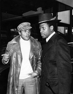 Harry Belafonte & Sydney Poitier..now that swag <3