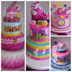 tortas imagina  tortas niña Soy Luna  tortas cumpleaños Soy Luna,  tortas tematicas Soy Luna