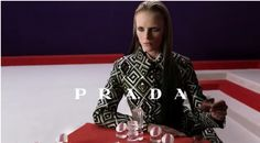 Watch the Prada Fall 2012 Ad Campaign photographed by Steven Meisel featuring models Elza Luijendijk, Vanesssa Axente, Iselin Steiro, and Madison Headrick