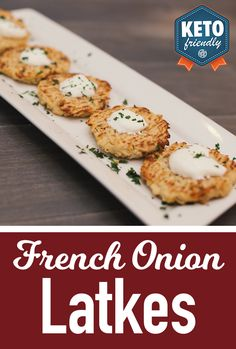 French Onion Latkes, yup that's a thing! Using our NEWEST addition to the BETTER//BROTH™ family, this recipe is sure to be a family favorite!