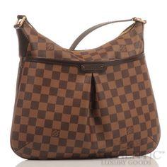 Louis Vuitton Bloomsbury Pm Crossbody Damier Ebene Bag Messenger Ebay 1 100