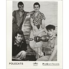 The Polecats, Make A Circuit With Me, USA, Promo, Deleted, media press pack, Polygram Records, PRESS PACK, 466292