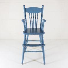 Blue High Chair $40 Rocking Chair, Eyes, Blue, Furniture, Home Decor, Chair Swing, Rocker Recliner Chair, Rocking Chairs, Interior Design
