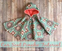 Car Seat Poncho Tutorial | Keep your kids safe in the car this winter! | thebabyandthebulldog.com