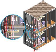 modular frame structure - Google 검색