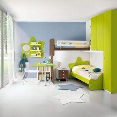 camere bambini eresem Eresem Ponti Attrezzati Verde Lineare2