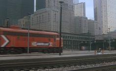 Silver Streak arrives in Chicago, 1976
