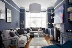 Home of Clare Elise Interiors. Juniper Ash by Little Greene Paint Company