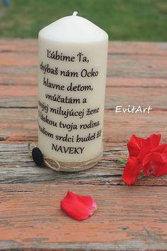 Evit.Art / Sviečka na hrob Pillar Candles, Candles
