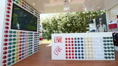Lacoste LIVE came to life in coachella, CA bringing a unique pop-up spirit to the music festival. #PopUpRetail pop up shops