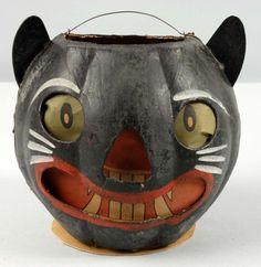German Black Cat Lantern