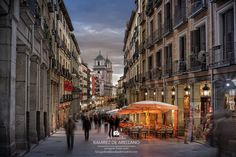 Calle Toledo by delreycarlos Skyline, Madrid, Street View, San, City, Places, Shopping, City Life, Landscape Photos