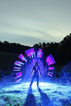 Dennis Calvert - Light Painting - Chrono Shift - Canon EOS 7D - 25/09/2011