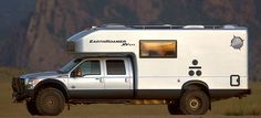The 2012 EarthRoamer XV-LTS - this thing is AMAZING!!! It has a full bath, little kitchen and sleeps up to 4, plus has 4 passenger seats and a table!