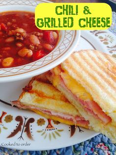 Chili & Grilled Cheese