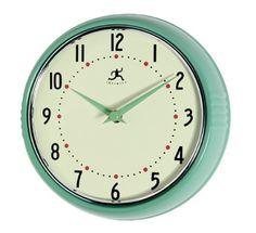 Green Vintage Clock
