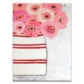 Found it at Wayfair - Poppy Jar by Anna Blatman Painting Print on Canvas