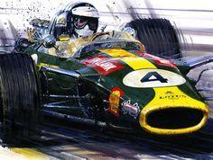 Jim Clark, Lotus 49 Cosworth, 1967
