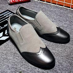 US $31 New Arrival Men Smoking Slippers Casual Shoes Cap Toe Design Men Velvet Shoes Fashion Men Male Wedding Party Loafers