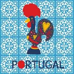 Portugal Vetores de Stock, Ilustrações Vetoriais Free Portugal | Depositphotos® Portugal, Galo, Rooster, Free, Illustration, Vector Illustrations, Vectors, Crafts, Themed Parties
