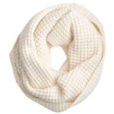J.Crew Waffle-stitch infinity scarf and other apparel, accessories and trends. Browse and shop related looks.