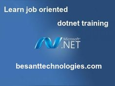 Learn job oriented dotnet training in Chennai from real-time expects.