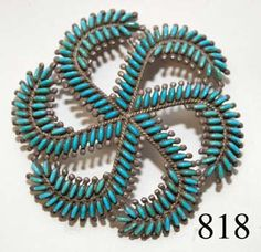 ZUNI PIN Coral Turquoise, Turquoise Stone, Native American Beauty, American Indian Jewelry, Southwest Jewelry, Zuni Jewelry, Jewellery, Turquoise Jewelry, Blue Gem