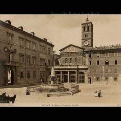 Roma Sparita - Piazza Santa Maria in Trastevere