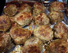 Baked Bison Quinoa Meatballs. Healthy, delicious, child approved