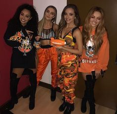 Little Mix at the KCAs | They won #FavouriteGlobalMusicStar
