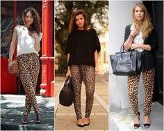 looks pants print leopard - Pesquisa Google
