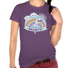 Believe in Narwhals Shirt