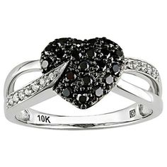 jewelry, accessories, rings, diamonds black and white, patterns, hearts
