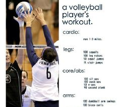 On that volleyball grind again! Excited for season ❤